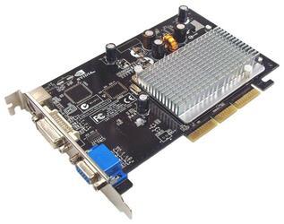 Видеокарта AGP GeForce 6200 512MB 64bit DDR2 [Inno3D] DVI DSub