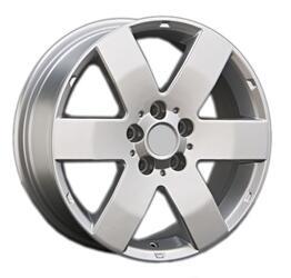Автомобильный диск литой LegeArtis OPL37 7x17 5/105 ET 42 DIA 56,6 Sil