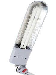 Настольный светильник ЭРА NL-202 серый