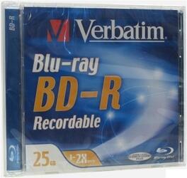 Диск BD-R 25Gb 2x Jewel Case