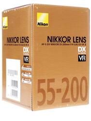 Объектив Nikon AF-S DX 55-200mm F4.0-5.6 G ED VR II Zoom-Nikkor