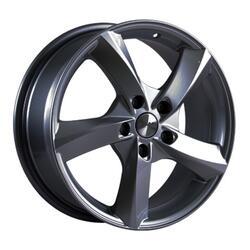 Автомобильный диск литой Скад Ультра 7x17 5/105 ET 30 DIA 72,6 Грей