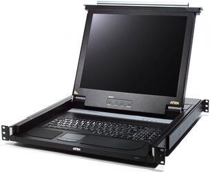 """[ATEN CL-1200LR] Консоль управления, для KVM-переключателей, 19"""", SVGA+KBD+MOUSE, LCD экран 15"""""""