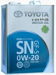 Моторное масло Toyota (Orig.Japan) 0W20 08880-10505