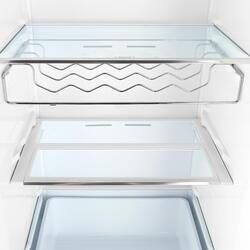 Холодильник с морозильником Samsung RB37J5240EF/WT бежевый