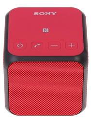 Портативная колонка Sony SRS-X11 красный
