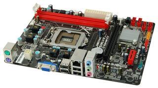Плата Biostar LGA1155 H61MLV2 H61 2xDDR3-1600 PCI-E DSub 6ch 4xSATA GLAN mATX