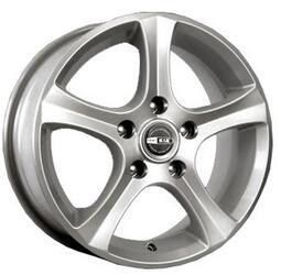 Автомобильный диск Литой K&K Каньон 6,5x15 5/112 ET 42 DIA 66,6 Блэк платинум