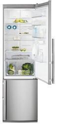 Холодильник с морозильником Electrolux EN4011AOX серебристый