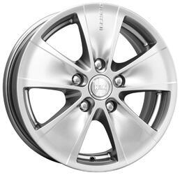 Автомобильный диск Литой K&K Иллюзио 6,5x16 5/100 ET 48 DIA 56,1 Блэк платинум