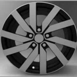Автомобильный диск литой Replay SK69 7,5x17 5/112 ET 49 DIA 57,1 BKF