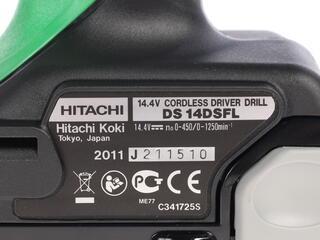 Шуруповерт Hitachi DS14DSFL
