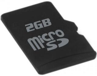 Карта памяти QUMO microSD 2 Гб