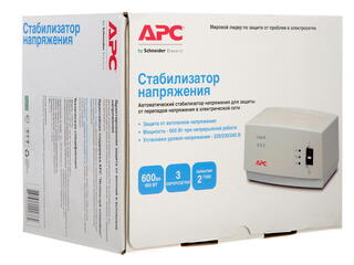 Стабилизатор напряжения APC AVR Line-R LE600-RS