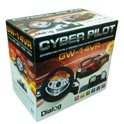 Руль Dialog GW-14VR Cyber Pilot