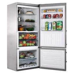 Холодильник с морозильником Liebherr CBNPes 4656-20 серебристый