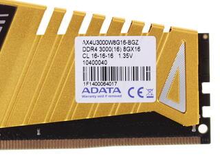 Оперативная память AData XPG Z1 [AX4U3000W8G16-BGZ] 8 ГБ