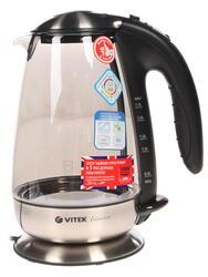 Электрочайник Vitek VT-1111 GY прозрачный