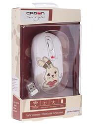 Мышь беспроводная CROWN CMM-928W Rabbit
