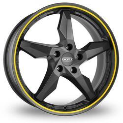 Автомобильный диск Литой Dotz Touge 8x18 5/114,3 ET 40 DIA 71,6 Graphite