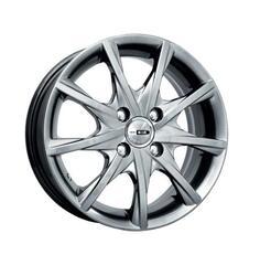 Автомобильный диск Литой K&K Алькор 5,5x14 4/108 ET 24 DIA 65,1 Блэк платинум