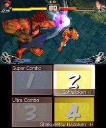 Игра для 3DS Super Street Fighter IV