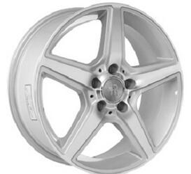Автомобильный диск литой Replay MR65 7,5x17 5/112 ET 37 DIA 66,6 Sil