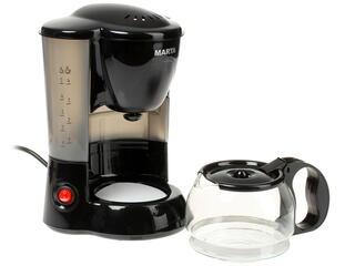 Кофеварка Marta MT-2111 серый, черный