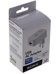 Сетевое зарядное устройство Sony CP-AD2