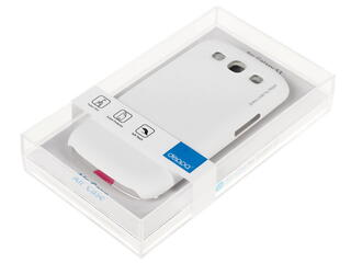 Накладка + защитная пленка  для смартфона Samsung Galaxy S3
