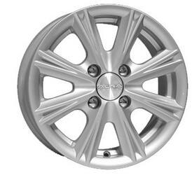 Автомобильный диск Литой K&K Аттика 5,5x14 4/114,3 ET 43 DIA 69,1 Сильвер