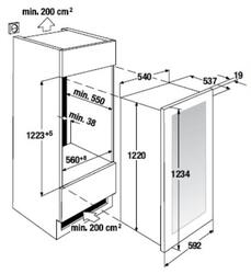 Холодильник без морозильника Electrolux ERX3313AOX