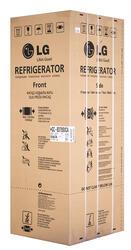 Холодильник с морозильником LG GC-B379SVCA белый