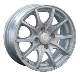 Автомобильный диск литой LS 190 6x14 4/98 ET 35 DIA 58,6 Sil