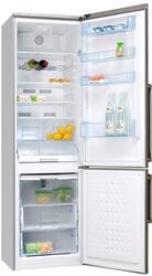 Холодильник с морозильником Hansa FK353.6 DFZVX серебристый