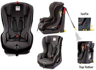 Детское автокресло PEG-PEREGO Viaggio Duo-Fix TT черный