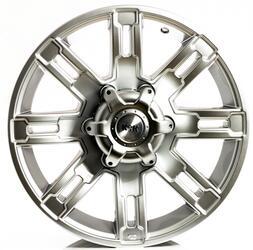 Автомобильный диск литой K&K Полюс 7,5x16 6/139,7 ET 5 DIA 111,6 Блэк платинум