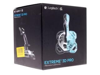 Джойстик Logitech Extreme 3D Pro серебристый