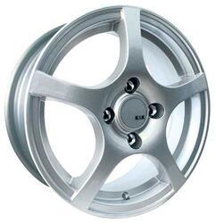 Автомобильный диск Литой K&K Салют 5,5x14 4/100 ET 49 DIA 67,1 Блэк платинум