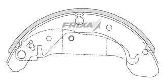 Тормозные колодки Hankook Frixa FLD09