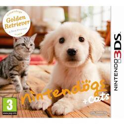 Игра для 3DS Nintendogs + Cats. Голден-ретривер и новые друзья