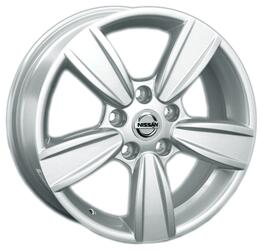 Автомобильный диск литой Replay NS99 6,5x16 5/139,7 ET 55 DIA 56,1 Sil