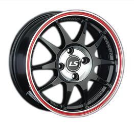 Автомобильный диск литой LS 204 6,5x15 4/98 ET 32 DIA 58,6 BKCRL
