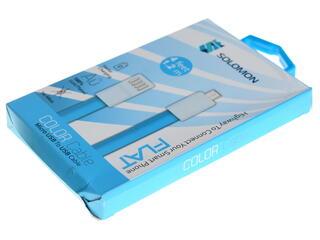 Кабель Solomon micro USB - USB синий