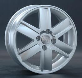 Автомобильный диск литой Replay RN2 6x15 4/112 ET 60 DIA 110,1 Sil