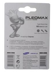 Батарейка Samsung Pleomax R03-2BL