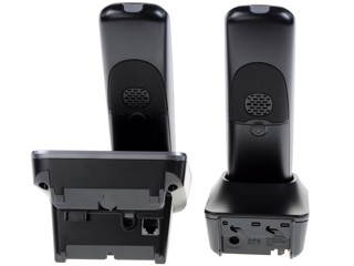 Телефон беспроводной (DECT) Panasonic KX-TG6722RUB