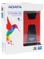 "2.5"" Внешний HDD A-Data [AHD650-1TU3-CRD]"