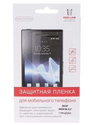"4.5""  Пленка защитная для смартфона Dexp Ixion ML"