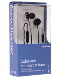 Гарнитура проводная Nokia WH-208 черный